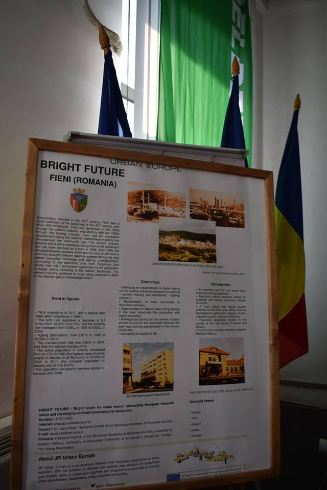 """The launching of the film """"Rethinking the present, we build the future"""", 06th July 2018, Fieni Town Hall, Dâmbovița, Romania"""